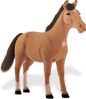 click to see Steiff  Studio Pony in detail