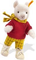 click to see Steiff  Rupert Bear in detail
