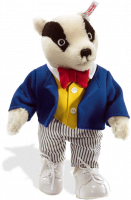 click to see Steiff  Bill Badger in detail