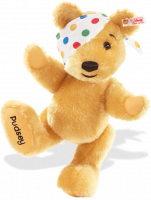 click to see Steiff  Pudsey Collectors Bear - We All Love Pudsey! in detail