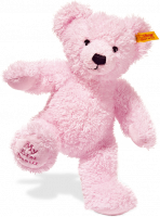 click to see Steiff 'my First' Pink  Teddy Bear in detail