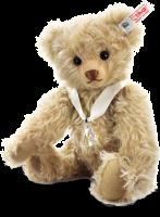 click to see Steiff  'little Gem' Swarovski Bear in detail