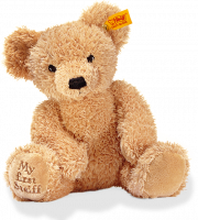 click to see Steiff 'my First' Brown  Teddy in detail