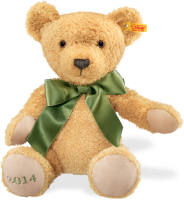 click to see Steiff  Cosy Year Teddy Bear 2014 in detail