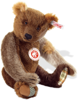 click to see Steiff  Jumble Teddy Bear in detail