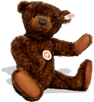 click to see Steiff  'toffee Ted' - A Real 'sweetie' in detail