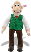 click to see Steiff Wallace - From Aardman Animations 40th Anniversary in detail
