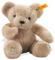 click to see Steiff  'my First' Teddy Bear (beige) in detail