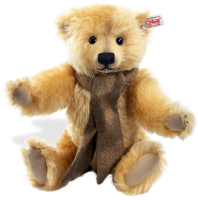 click to see Steiff  Dominic Mohair Teddy Bear in detail