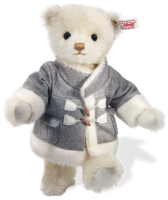 click to see Steiff  Duffle In His Designer Coat Lined With The Finest Alpaca in detail