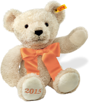 click to see Steiff  Cosy Year Teddy Bear 2015 in detail