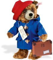 click to see Steiff Sold Out.  Paddington Bear in detail