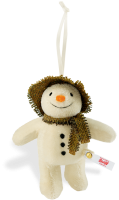 click to see Steiff  Snowman Ornament in detail