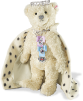 click to see Steiff Queen Elizabeth 11 : Only 100 Pieces Made Worldwide in detail