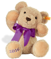 click to see Steiff  Cosy Year Teddy Bear 2016 in detail