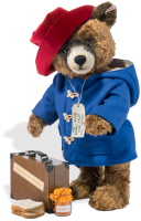 click to see Steiff  Paddington Big Famous Bear - Special To Love Forever in detail