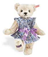 click to see Steiff  Violet Liberty Teddy Bear in detail
