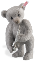 click to see Steiff /lladro Saxophone Musical Bear in detail