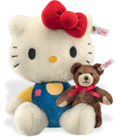 click to see Steiff  Hello Kitty 40th Anniversary Bear in detail