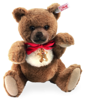 click to see Steiff  Swarovski Cookie Teddy Bear in detail
