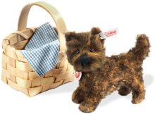 click to see Steiff  Toto And Her Basket - A Collectors Set And So Adorable in detail