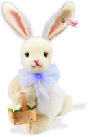 click to see Steiff  Mohair Daisy Spring Bunny in detail