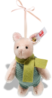 click to see Steiff Piglet Ornament in detail