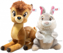 click to see Steiff  Bambi & Thumper in detail