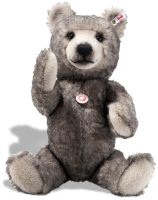 click to see Steiff  'big Bear' - Grey Tipped Alpaca in detail