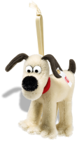 click to see Steiff Gromit Ornament - For The One You Love in detail