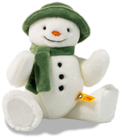 click to see Steiff  The Snowman - I Am Ready For Happy Christmas in detail