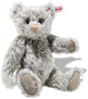 click to see Steiff Royal Platinum (70th) Wedding Anniversary Bear in detail