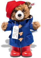 click to see Steiff  Paddington Made From Chestnut Mohair & Fully Jointed in detail