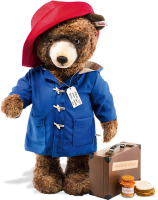 click to see Steiff Paddington (life Size) - Only 350 Pieces Made Worldwide! in detail
