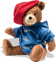 click to see Steiff  Bear Famous Large Paddington - Who Everyones Loves! in detail