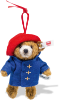 click to see Steiff Paddington Mohair Ornament in detail