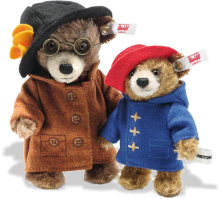 click to see Steiff  Unique Paddington & Aunty Lucy Mini Set in detail