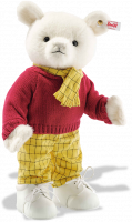 click to see Steiff Rupert 100th Anniversary Musical Bear in detail