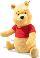 click to see Steiff Disney Winnie Pooh - Only 500 Pieces Made Worldwide! in detail