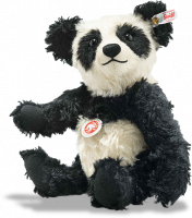 click to see Steiff  Panda Ted - With Loving Face in detail