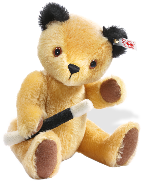 Steiff limited edition teddy 'sooty' With His Magic Wand, 663932