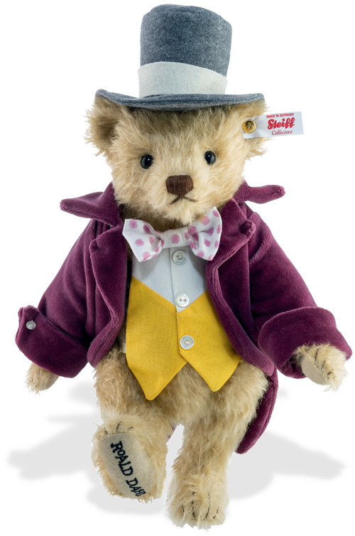 Steiff limited edition teddy Famous Willy Wonka From Charlie & The ...